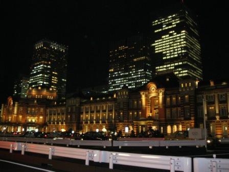 130208東京駅イルミネーション