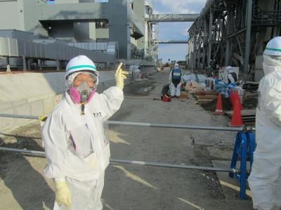 凍土遮水壁工事現場 (17)